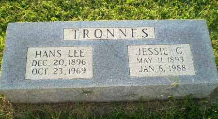 TRONNES, HANS LEE - Greene County, Arkansas | HANS LEE TRONNES - Arkansas Gravestone Photos