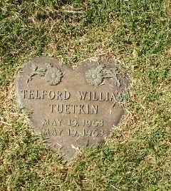 TUETKIN, TELFLORD WILLIAM - Greene County, Arkansas | TELFLORD WILLIAM TUETKIN - Arkansas Gravestone Photos