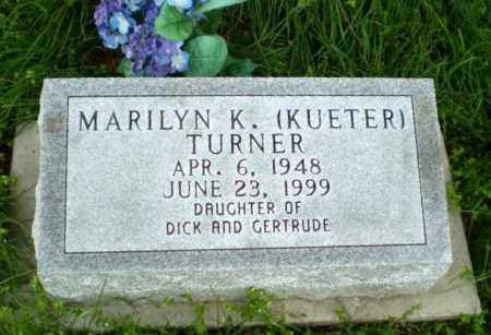 TURNER, MARILYN K - Greene County, Arkansas | MARILYN K TURNER - Arkansas Gravestone Photos