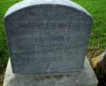 TYNER, MARGUERITE - Greene County, Arkansas | MARGUERITE TYNER - Arkansas Gravestone Photos
