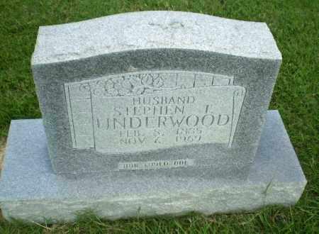 UNDERWOOD, STEPHEN T - Greene County, Arkansas | STEPHEN T UNDERWOOD - Arkansas Gravestone Photos