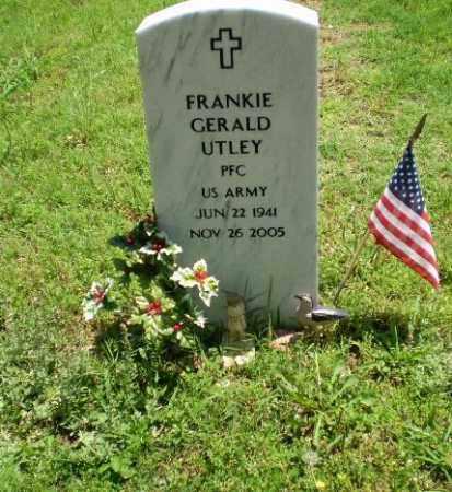 UTLEY (VETERAN), FRANKIE GERALD - Greene County, Arkansas | FRANKIE GERALD UTLEY (VETERAN) - Arkansas Gravestone Photos