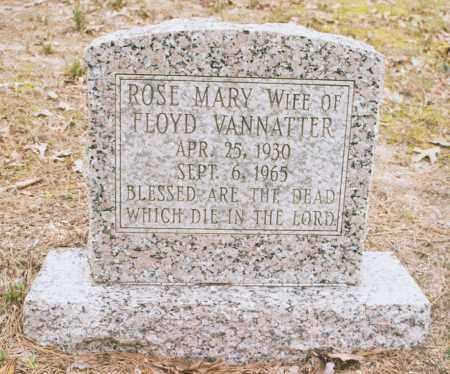 VANNATTER, ROSE MARY - Greene County, Arkansas   ROSE MARY VANNATTER - Arkansas Gravestone Photos