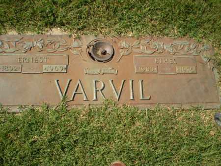 VARVIL, ETHEL - Greene County, Arkansas | ETHEL VARVIL - Arkansas Gravestone Photos