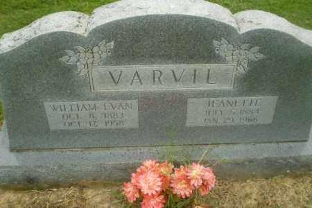 VARVIL, WILLIAM IVAN - Greene County, Arkansas | WILLIAM IVAN VARVIL - Arkansas Gravestone Photos