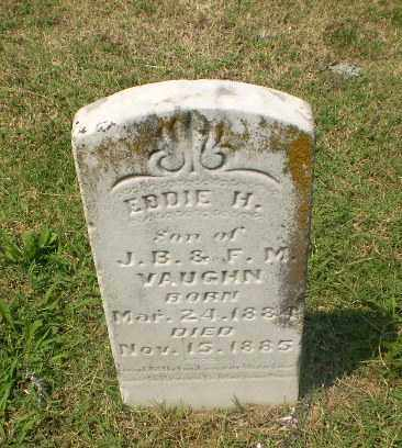 VAUGHN, EDDIE H - Greene County, Arkansas | EDDIE H VAUGHN - Arkansas Gravestone Photos