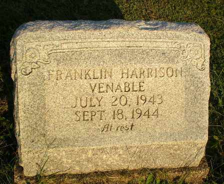 VENABLE, FRANKLIN HARRISON - Greene County, Arkansas | FRANKLIN HARRISON VENABLE - Arkansas Gravestone Photos