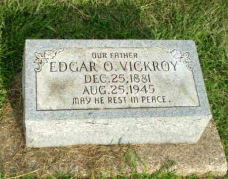 VICKROY, EDGAR O - Greene County, Arkansas | EDGAR O VICKROY - Arkansas Gravestone Photos