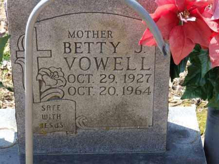 VOWELL, BETTY J. - Greene County, Arkansas   BETTY J. VOWELL - Arkansas Gravestone Photos