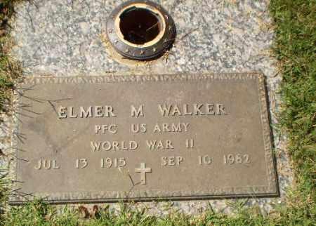 WALKER  (VETERAN WWII), ELMER M - Greene County, Arkansas | ELMER M WALKER  (VETERAN WWII) - Arkansas Gravestone Photos
