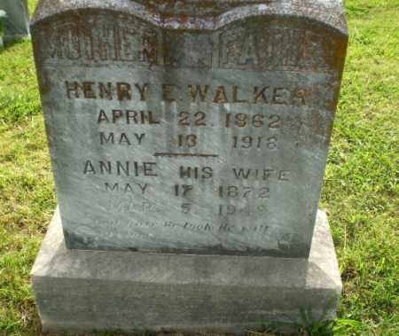 WALKER, ANNIE - Greene County, Arkansas | ANNIE WALKER - Arkansas Gravestone Photos