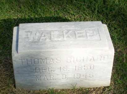 WALKER, THOMAS RICHARD - Greene County, Arkansas | THOMAS RICHARD WALKER - Arkansas Gravestone Photos