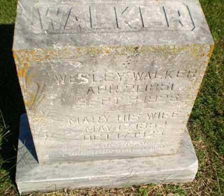 WALKER, WESLEY - Greene County, Arkansas | WESLEY WALKER - Arkansas Gravestone Photos