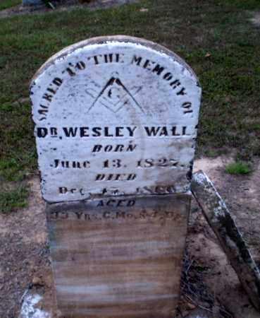 WALL, DR., WESLEY - Greene County, Arkansas   WESLEY WALL, DR. - Arkansas Gravestone Photos