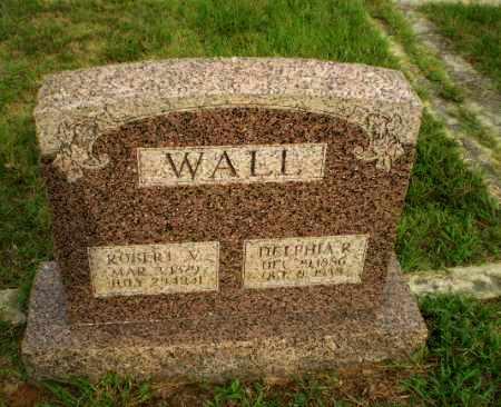 WALL, ROBERT V - Greene County, Arkansas | ROBERT V WALL - Arkansas Gravestone Photos
