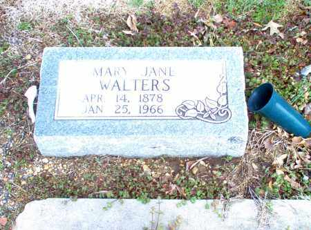 WALTERS, MARY JANE - Greene County, Arkansas | MARY JANE WALTERS - Arkansas Gravestone Photos