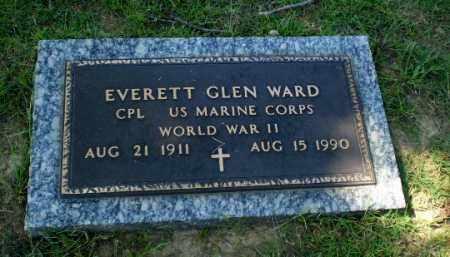 WARD  (VETERAN WWII), EVERETT GLEN - Greene County, Arkansas   EVERETT GLEN WARD  (VETERAN WWII) - Arkansas Gravestone Photos