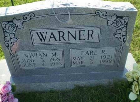 WARNER, EARL R - Greene County, Arkansas | EARL R WARNER - Arkansas Gravestone Photos