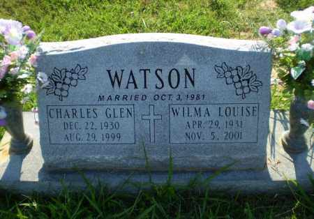 WATSON, CHARLES GLEN - Greene County, Arkansas | CHARLES GLEN WATSON - Arkansas Gravestone Photos