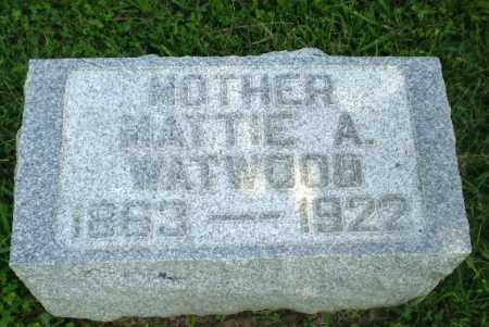 WATWOOD, MATTIE A - Greene County, Arkansas | MATTIE A WATWOOD - Arkansas Gravestone Photos