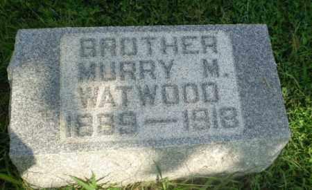 WATWOOD, MURRY M - Greene County, Arkansas | MURRY M WATWOOD - Arkansas Gravestone Photos