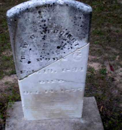 WEDDINGTON, DR., W.B. - Greene County, Arkansas | W.B. WEDDINGTON, DR. - Arkansas Gravestone Photos
