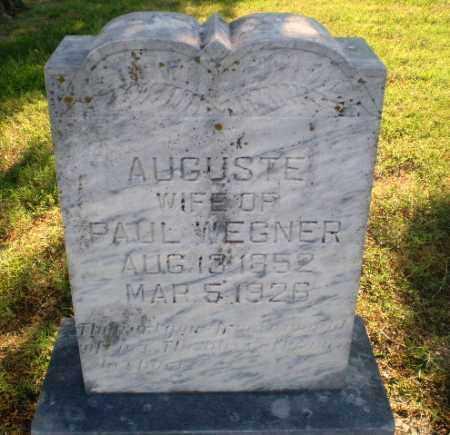 WEGNER, AUGUSTE - Greene County, Arkansas | AUGUSTE WEGNER - Arkansas Gravestone Photos