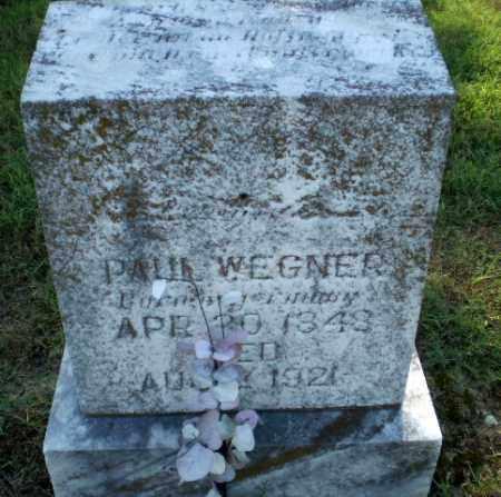 WEGNER, PAUL - Greene County, Arkansas | PAUL WEGNER - Arkansas Gravestone Photos