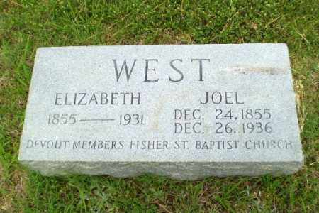 WEST, ELIZABETH - Greene County, Arkansas | ELIZABETH WEST - Arkansas Gravestone Photos