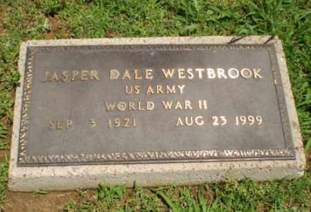 WESTBROOK (VETERAN WWII), JASPER DALE - Greene County, Arkansas | JASPER DALE WESTBROOK (VETERAN WWII) - Arkansas Gravestone Photos