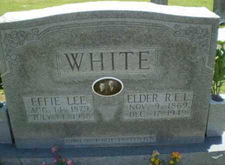 WHITE, ELDER R.E.L. - Greene County, Arkansas | ELDER R.E.L. WHITE - Arkansas Gravestone Photos