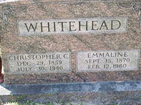 WHITEHEAD, CHRISTOPHER C. - Greene County, Arkansas | CHRISTOPHER C. WHITEHEAD - Arkansas Gravestone Photos