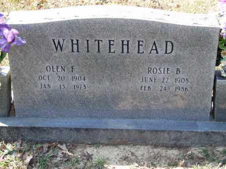 WHITEHEAD, OLEN F. - Greene County, Arkansas | OLEN F. WHITEHEAD - Arkansas Gravestone Photos