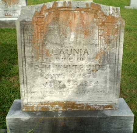 WHITESIDE, LAUNIA - Greene County, Arkansas   LAUNIA WHITESIDE - Arkansas Gravestone Photos