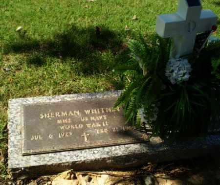 WHITNEY  (VETERAN WWII), SHERMAN - Greene County, Arkansas | SHERMAN WHITNEY  (VETERAN WWII) - Arkansas Gravestone Photos