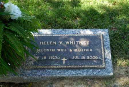 WHITNEY, HELEN V - Greene County, Arkansas | HELEN V WHITNEY - Arkansas Gravestone Photos