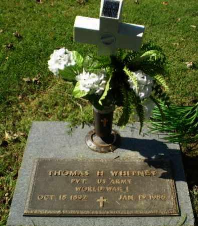 WHITNEY (VETERAN WWI), THOMAS H - Greene County, Arkansas   THOMAS H WHITNEY (VETERAN WWI) - Arkansas Gravestone Photos