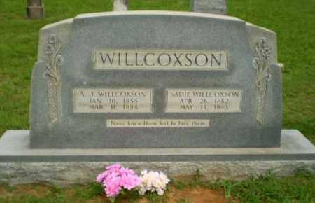 WILLCOXSON, SADIE - Greene County, Arkansas   SADIE WILLCOXSON - Arkansas Gravestone Photos