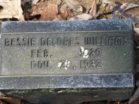 WILLIAMS, BESSIE DELORES - Greene County, Arkansas   BESSIE DELORES WILLIAMS - Arkansas Gravestone Photos