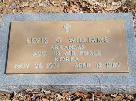 WILLIAMS, ELVIS G. - Greene County, Arkansas   ELVIS G. WILLIAMS - Arkansas Gravestone Photos