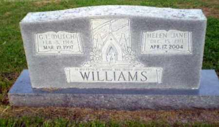 "WILLIAMS, G I ""DUTCH"" - Greene County, Arkansas 