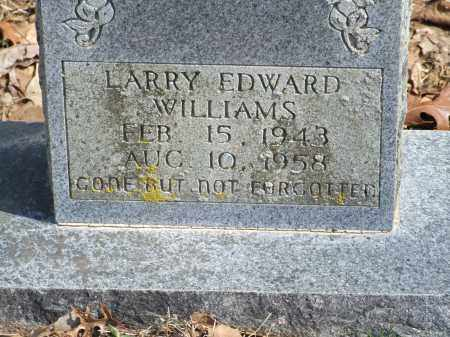 WILLIAMS, LARRY EDWARD - Greene County, Arkansas | LARRY EDWARD WILLIAMS - Arkansas Gravestone Photos