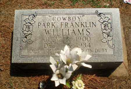 "WILLIAMS, PARK FRANKLIN ""COWBOY"" - Greene County, Arkansas 