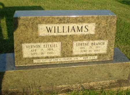 WILLIAMS, VERNON EZEKIEL - Greene County, Arkansas | VERNON EZEKIEL WILLIAMS - Arkansas Gravestone Photos