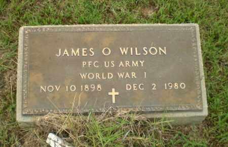 WILSON  (VETERAN WWI), JAMES O - Greene County, Arkansas | JAMES O WILSON  (VETERAN WWI) - Arkansas Gravestone Photos