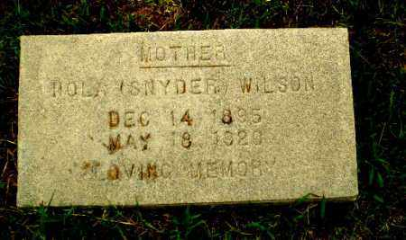 WILSON, HOLA - Greene County, Arkansas | HOLA WILSON - Arkansas Gravestone Photos