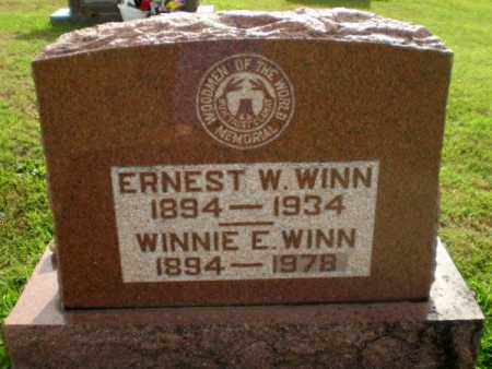 WINN, WINNIE E - Greene County, Arkansas | WINNIE E WINN - Arkansas Gravestone Photos