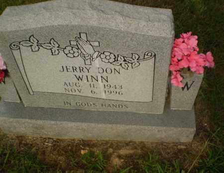 WINN, JERRY DON - Greene County, Arkansas | JERRY DON WINN - Arkansas Gravestone Photos
