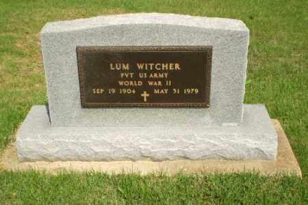 WITCHER  (VETERAN WWII), LUM - Greene County, Arkansas | LUM WITCHER  (VETERAN WWII) - Arkansas Gravestone Photos