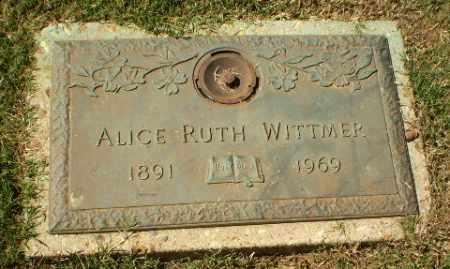 WITTMER, ALICE RUTH - Greene County, Arkansas   ALICE RUTH WITTMER - Arkansas Gravestone Photos